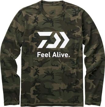 e512a986d71 DAIWA 2019 новый стиль дайв Рыбалка одежда быстросохнущая анти-УФ Daiwa  рубашки спортивная одежда для рыбалки