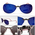 Design clássico Unisex Polarizada Clip Sobre Óculos De Sol Condução óculos de Visão Noturna Óculos Anti-Uv Óculos De Sol Clips Clips