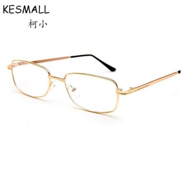 Kesmall Reading Glasses Women Men Fashion Metal Frame