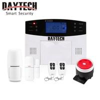 DAYTECH Alarm Ssytem Keyboard Touch Wireless PIR Detector Remote Controls Home Security Windows Door Sensor Remote Control Siren