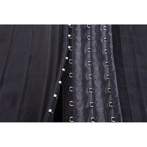 Image 5 - Cintura de látex espartilho 25 pçs aço desossado underbust cintura de borracha cincher