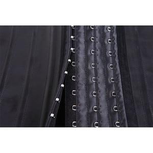 Image 5 - Látex Cintura Corsé 25 unids Deshuesado Acero de Underbust Faja de Cintura De Goma