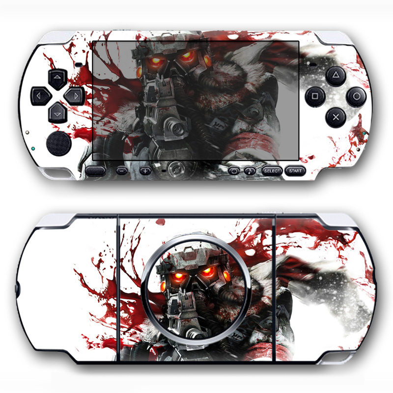 Free drop shipping 2018 good quality make your own gaming sticker for Sony PSP 3000 skin sticker #TN-PP3000-5087