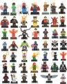 CHITOY Индивидуально Одной Продажи Marvel Super Hero Мстители Deadpool Бэтмен Строительные Блоки Устанавливает Кирпич Игрушки Совместимые