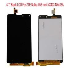 Для ZTE Нубия Z5S мини NX403A NX403 NX404H ЖК-Дисплей + Сенсорный экран Стекла Digitizer Тяга Для ZTE Нубия Z5S mini NX403 ЖК-