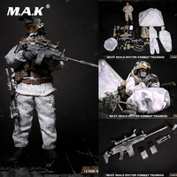 For Collection 1/6 Scale Full Set Figure M011 Navy Seals Winter Combat Training Male Figure Model Toys for Fans Holiday Gift