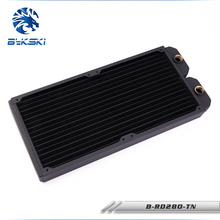 Bykski B-RD280-TN 28cm 280mm Copper Radiator Water Cooling 30mm