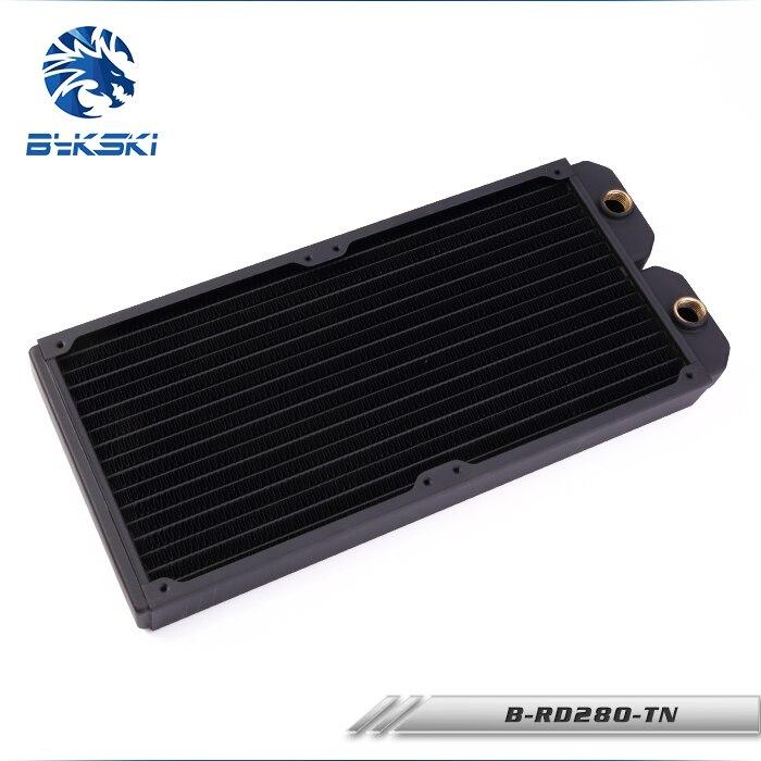 Bykski B-RD280-TN 28 см 280 мм 2x14 см Медь радиатор жидкость водяного охлаждения