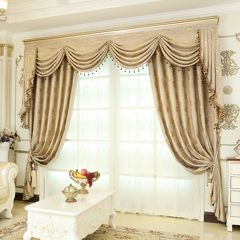 2019 European Luxury Window Curtains For Living Room Bedroom Thick Jacqurd  Curtains For Bedroom Window Treatment Drapes Custom Made From Isaaco, ...
