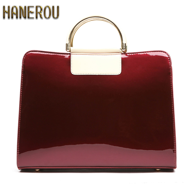 New 2018Women Bag Luxury PU Leather Handbags Fashion Women Famous Brands Designer Handbag High Quality Brand Ladies Shoulder Bag new fashion luxury women bags handbags women famous brands shoulder bag designer tote high quality patent leather messenger bag