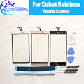 Cubot Rainbow Touch Screen Digitizer 100% Original Digitizer Glass Panel Touch Replacement For Cubot Rainbow +tools+ Adhesive