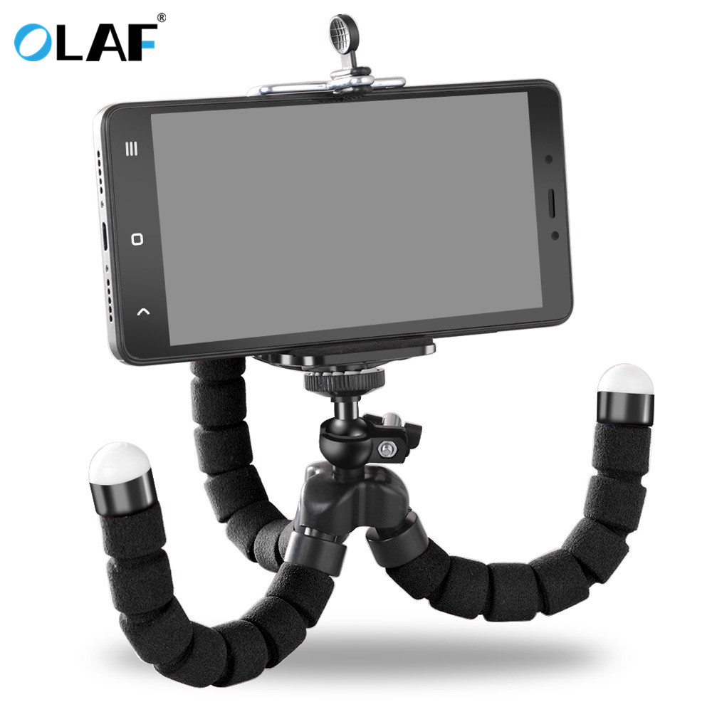Universal Car Phone Holder Flexible Octopus Leg Tripod Bracket Mount Monopod Adjustable For Iphone 5 5s 6 6s 7 Plus Xiaomi Mi4 Mobile Phone Holders & Stands