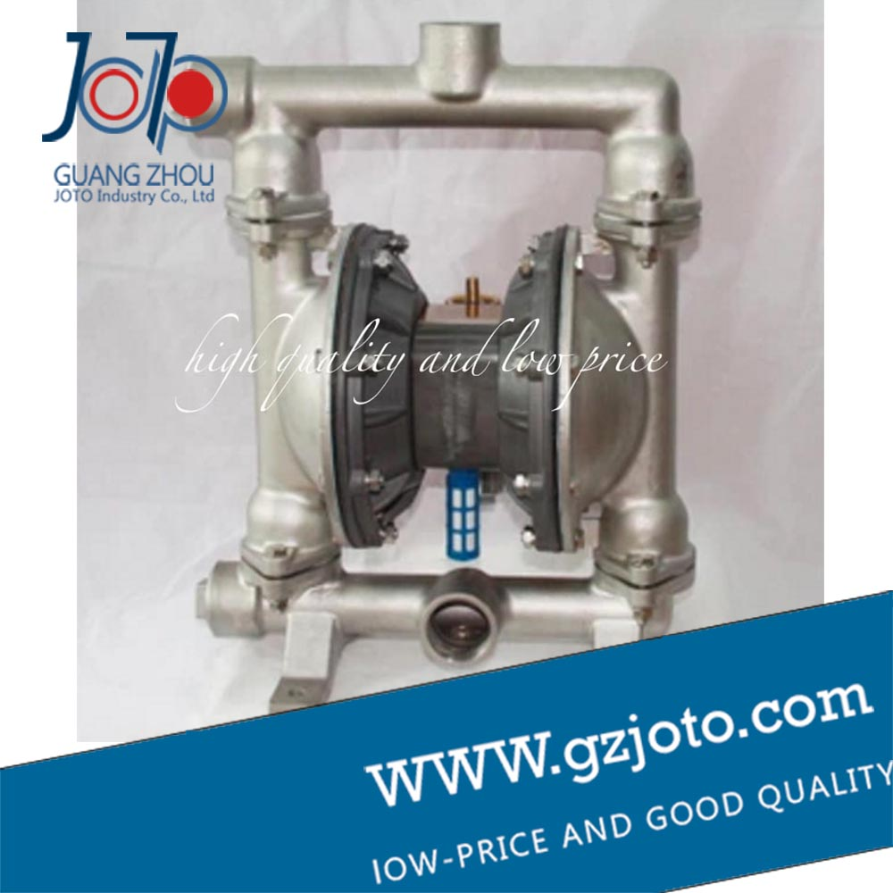 304 stainless steel Natural color stainless steel diaphragm pump with F46 diaphragm
