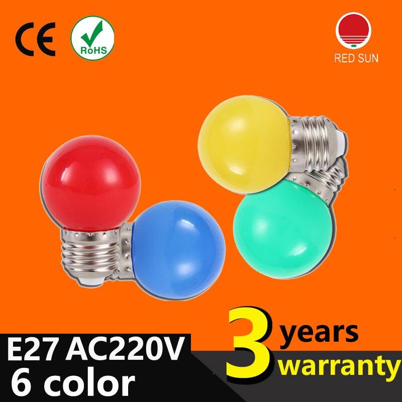 Wholesale Led Light Bulb Color E27 Lo 1w Small Light Bulb Outdoor Decorative Indoor Air