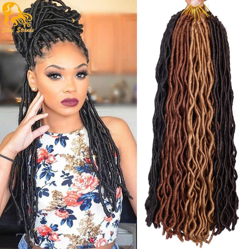 Aliexpress.com : Buy Crochet Goddess Locs Hair Extensions