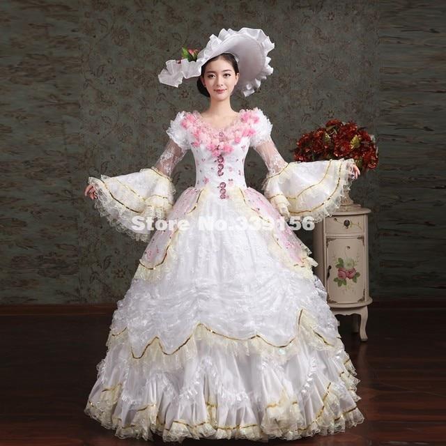 White Rococo Dress