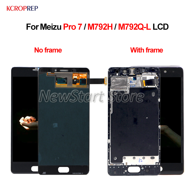 For Meizu Pro 7 LCD Display Touch Screen Digitizer Assembly 100% New 5.1 Replacement Accessory For Meizu Pro 7 M792H M792QL lcdFor Meizu Pro 7 LCD Display Touch Screen Digitizer Assembly 100% New 5.1 Replacement Accessory For Meizu Pro 7 M792H M792QL lcd
