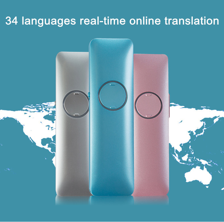 New arrival translation machine Multilingual translation Portable Voice Translator intelligent voice translation free shipping translation competence development