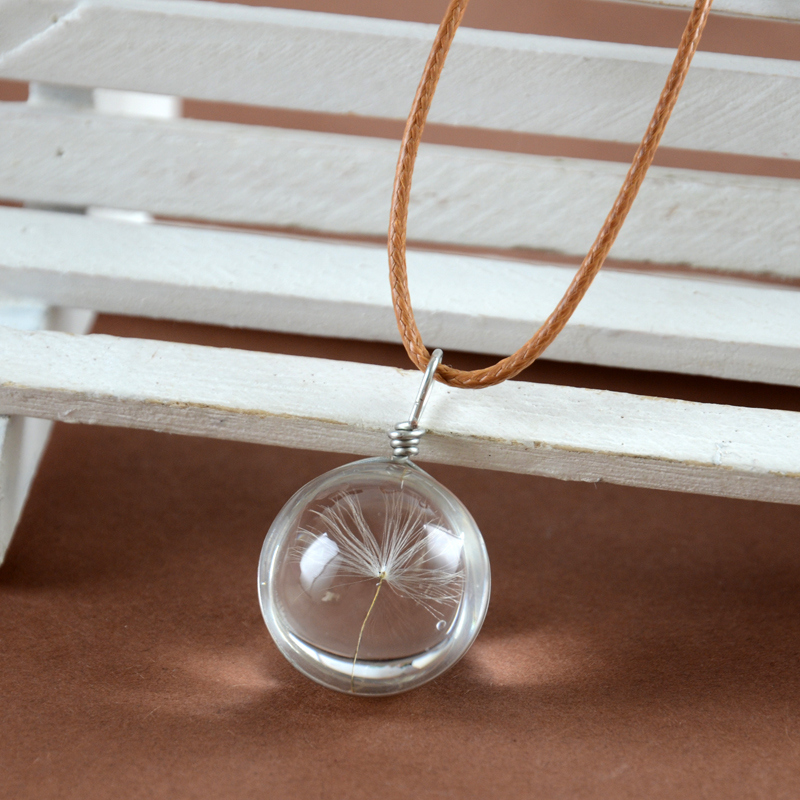 Stunning gorgeous ball shape Vial Necklace