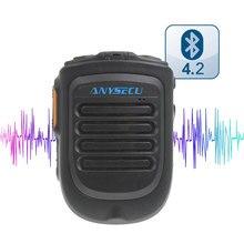 Ptt sem fio bluetooth handsfree alto-falante b01 microfone para poc android rede rádio walkie talkie telefone trabalho com zello ptt