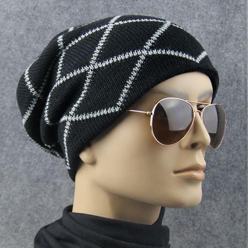 Brand Hat Fashion Winter Hat For Men/Women Skullies Beanies Knit Hat Unisex Headgear Female Cap skullies