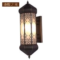 European style led e27 wall lamp indoor energy saving lighting vintage wall sconce light for restaurant hotel villa corridor
