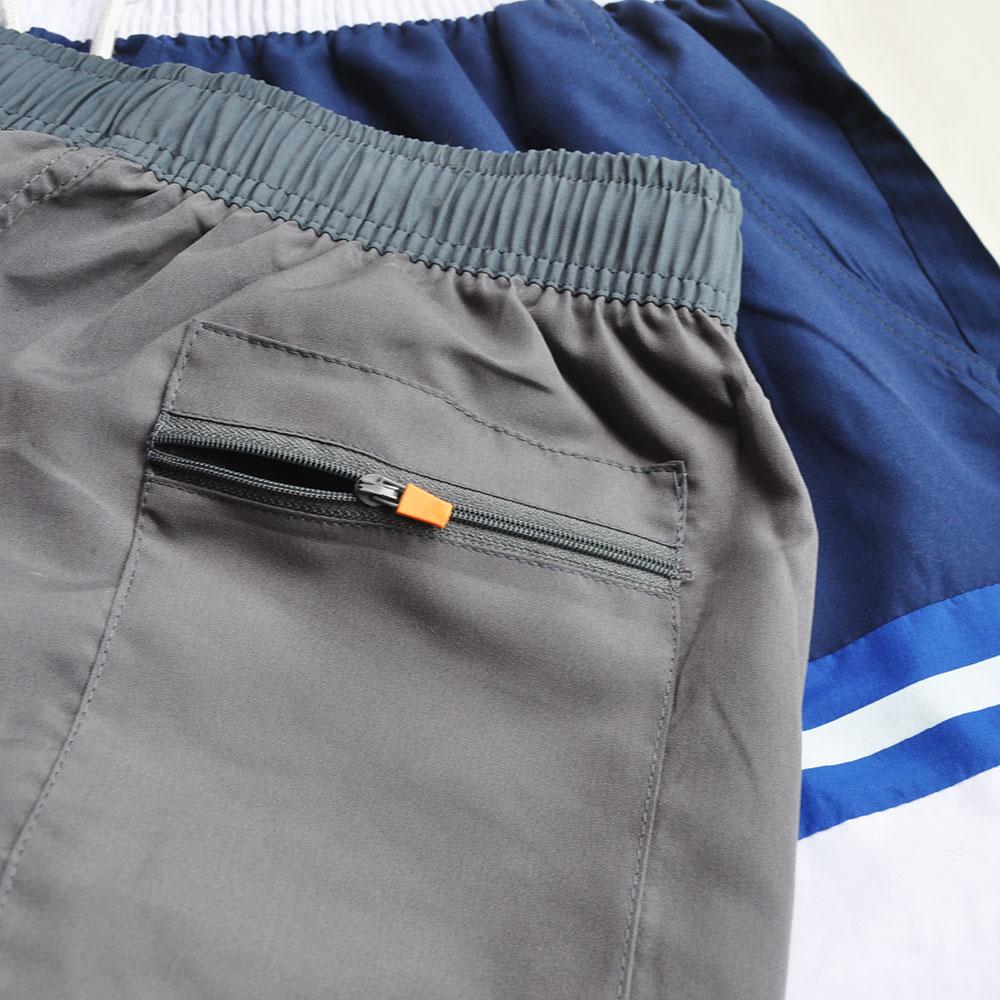 Sportet e verës për meshkuj që mbajnë pantallona plazhi Shirita - Veshje sportive dhe aksesorë sportive - Foto 6