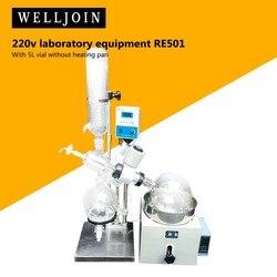110V 220V 5L obrotowy parownik Rotavapor sprzęt laboratoryjny RE501 szybka wysyłka