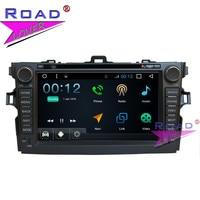 TOPNAVI Android 7,1 четырехъядерный 8 дюймов Автомобильный DVD медиаплеер центр для Toyota Corolla 2012 Стерео gps Navi 2 Din Automagnitol аудио