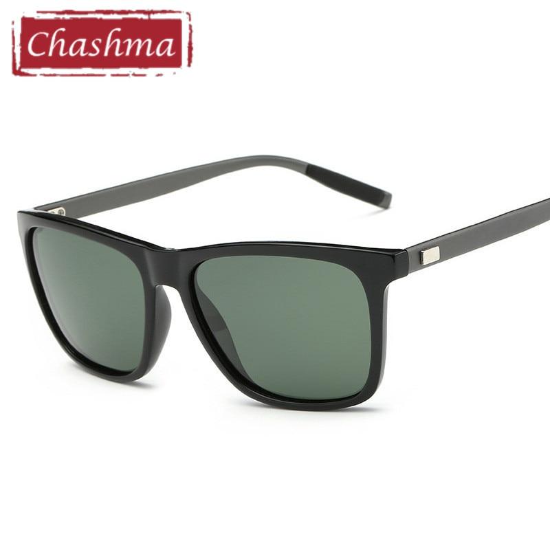 Chashma Polarized Lens UV Protection Sport Sunglasses Male Oversize Anti Glare Gafas for Driving Sun Glasses