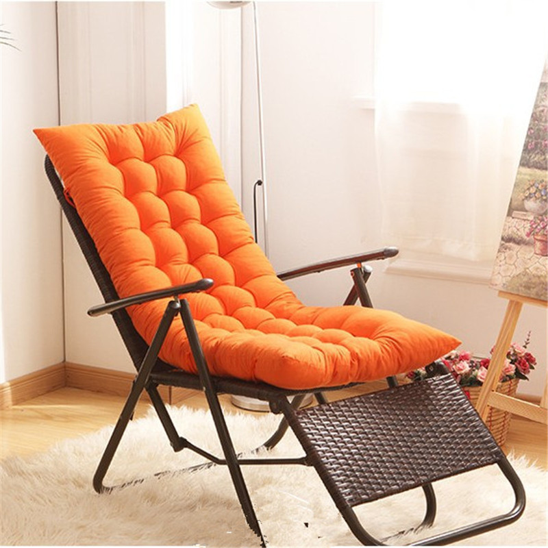 Us 22 87 48 Off Soft Home Office Seat Cushion Long Chair Pads Housse De Coussin 3d Winter Warm Deck Sling Chair Buttocks Cushion Winter 40 120cm In