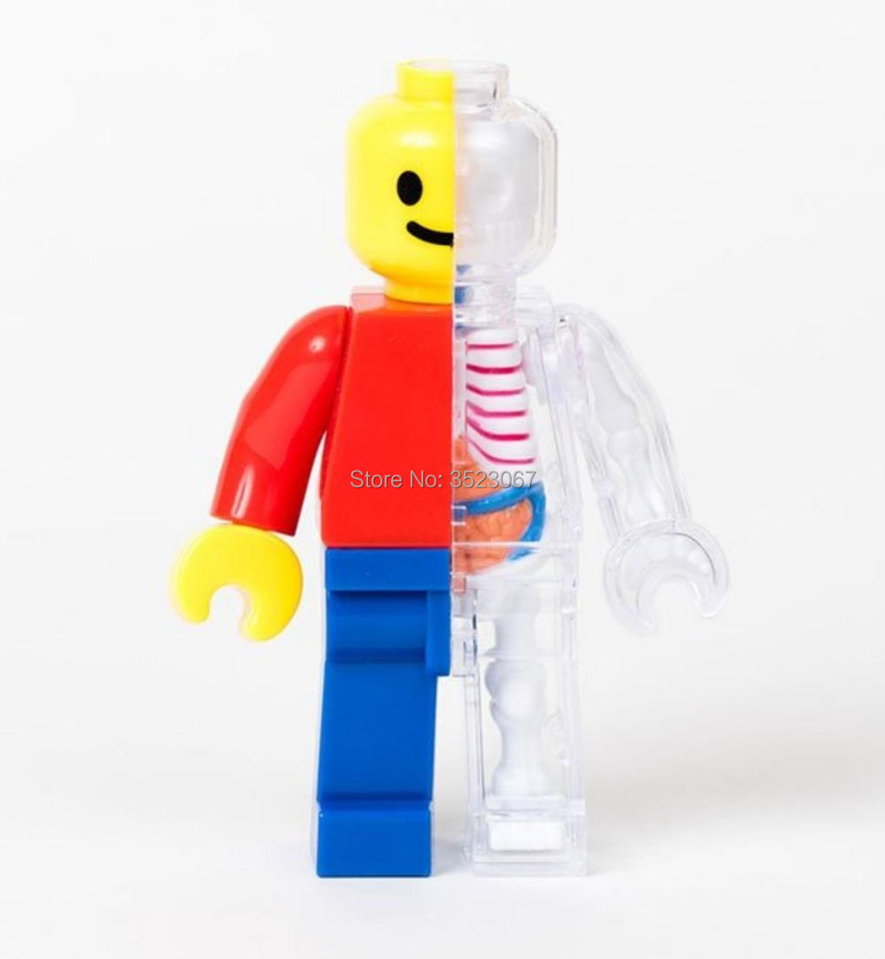 Jason Freeny Micro Anatomic Lego Figure 4Dmaster brickman muscleman version