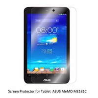 Clear LCD PET Film Anti Scratch Anti Bubble Touch Responsive Screen Protector For Tablet ASUS MeMO