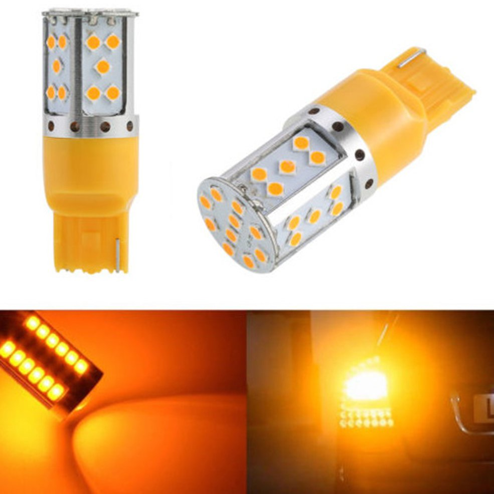 Car <font><b>Led</b></font> Turn Signal Brake Light <font><b>T20</b></font> S25 No Resistor No Hyper Flash <font><b>Led</b></font> <font><b>Bulbs</b></font> For Car Front Or <font><b>Rear</b></font> Turn Signal Lights image