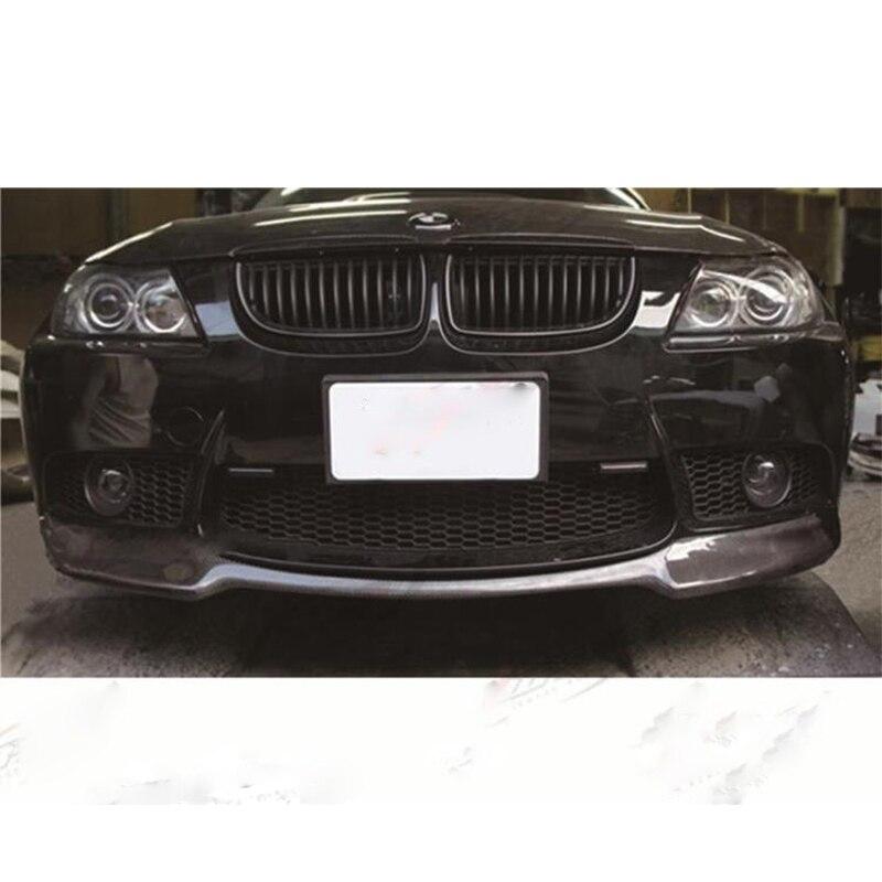 KIMISS Car Real Carbon Fiber Headlight Eyebrow Eyelid Trim for E46 323i 328i 330i 325i 1999-2004