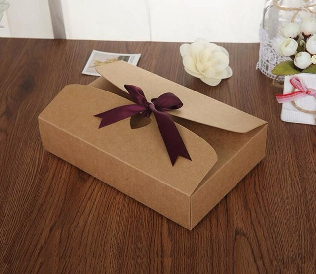215145cm large kraft gift box cosmetic bottle scarf clothing 215145cm large kraft gift box cosmetic bottle scarf clothing packaging brown paper negle Choice Image