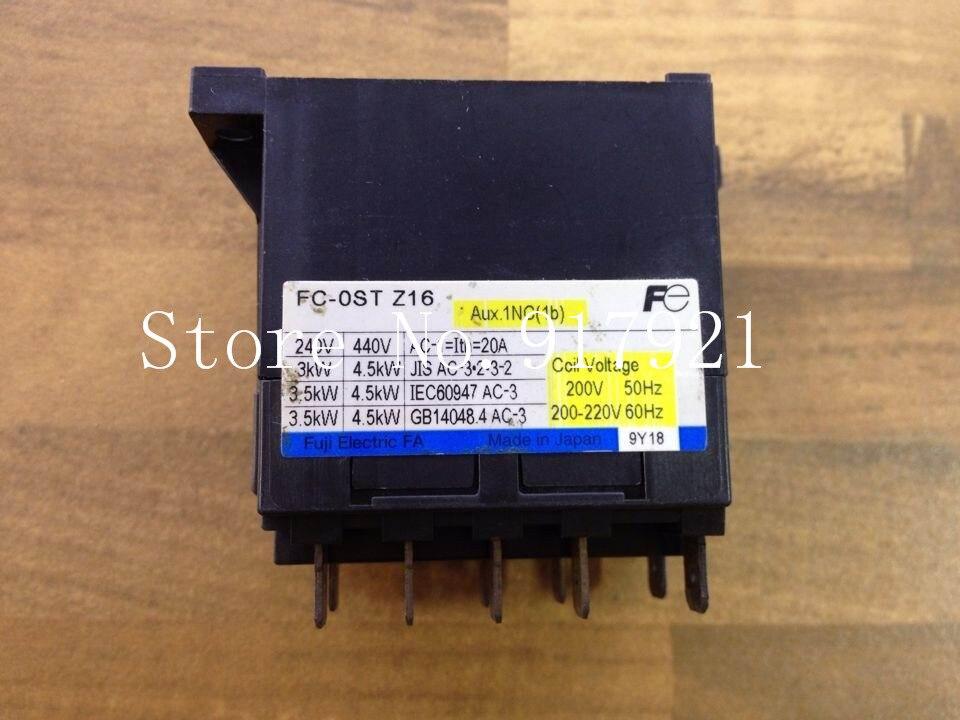 все цены на [ZOB] Fe FC-0ST-Z16 220V 20A contactor contactor Fuji Elevator genuine original --2pcs/lot онлайн