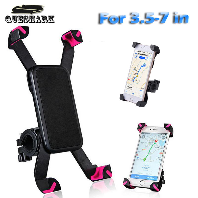 Universal Bicycle Phone Holder Handlebar Clip Stand For iPhone 8 7 5 SE Mount Bracket Bike Phone holder For Samsung S8 S7 universal cell phone holder mount bracket adapter clip for camera tripod telescope adapter model c