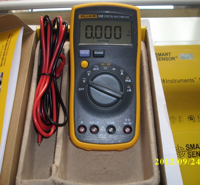 1PCS X 100% Authentic Brand New Fluke 17B F17B Digital Multimeter,15B + Temperature Measurement free shiping1PCS X 100% Authentic Brand New Fluke 17B F17B Digital Multimeter,15B + Temperature Measurement free shiping