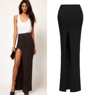 Online Shop 2015 fashion summer long skirts women high waist skirt ...