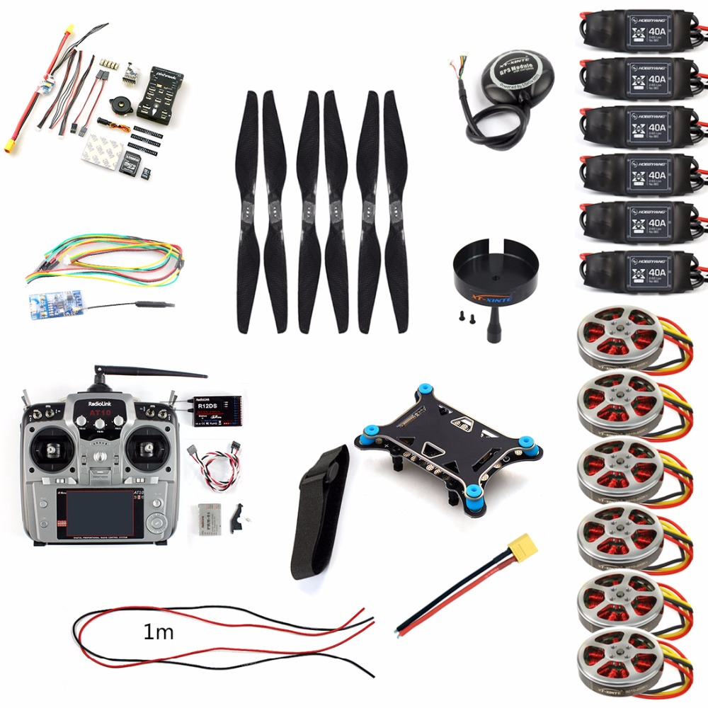DIY Accessory PIX PIX4 Flight Control 10CH Remote Control M8N GPS WIFI Telemetry Motor ESC Props for RC FPV Multicopter F50423-L f2s flight control with m8n gps t plug xt60 galvanometer for fpv rc fixed wing aircraft