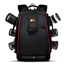 Professional digital camera bag slr double-shoulder anti-theft backpack