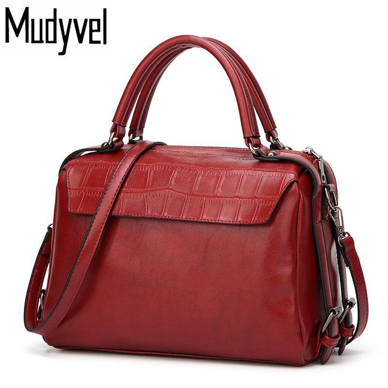 New Women Bag High Quality Leather Retro Women handbags Crocodile pattern simple shoulder Messenger bags Cross section Hand bag 2018 yuanyu 2016 new women crocodile bag women clutches leather bag female crocodile grain long hand bag