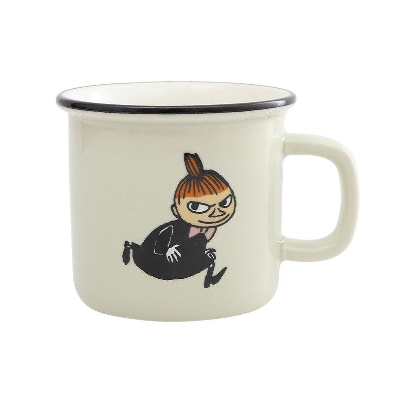 Promotion Canecas 250 ml En Céramique belle Tasse de Bande Dessinée Mignon Café Thé Au Lait Avec Poignée Nouveauté Enfant Cadeaux Finlandais moomin tasse
