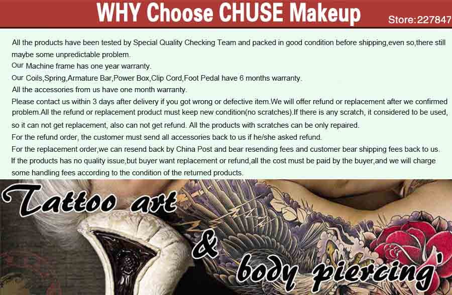CHUSE Makeup Store FAQ2