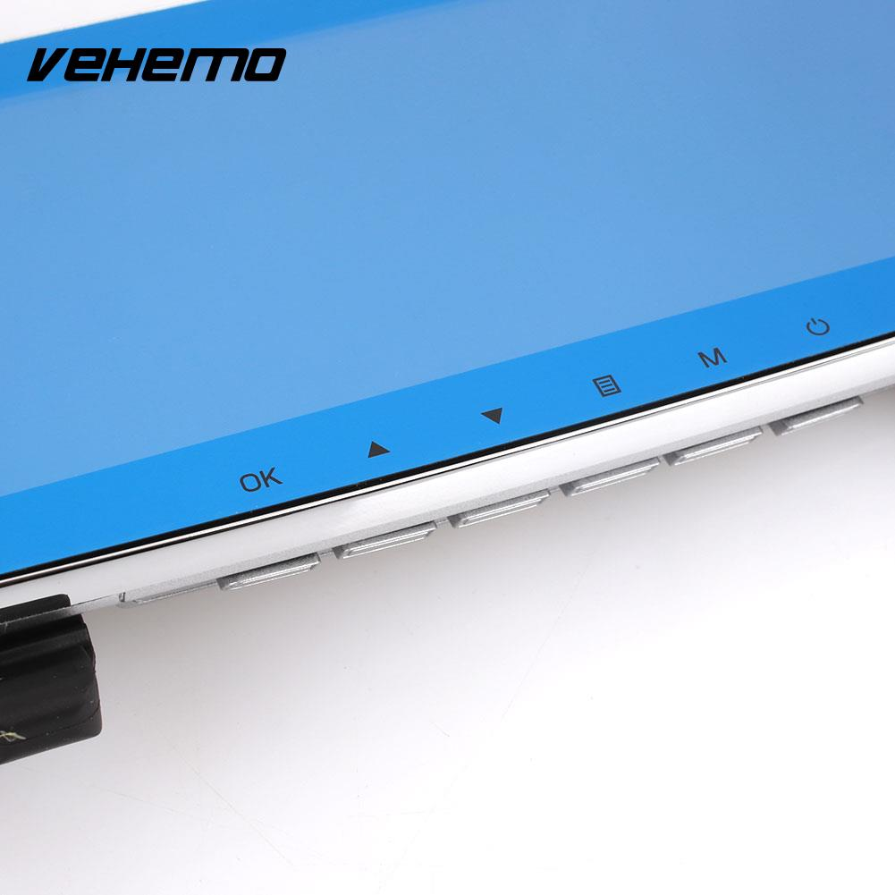 Vehemo IPS Touch Screen 7 Inch Premium Durable Rearview Mirror Car DVR Touch Screen Automobile Dash Cam Motion Detection