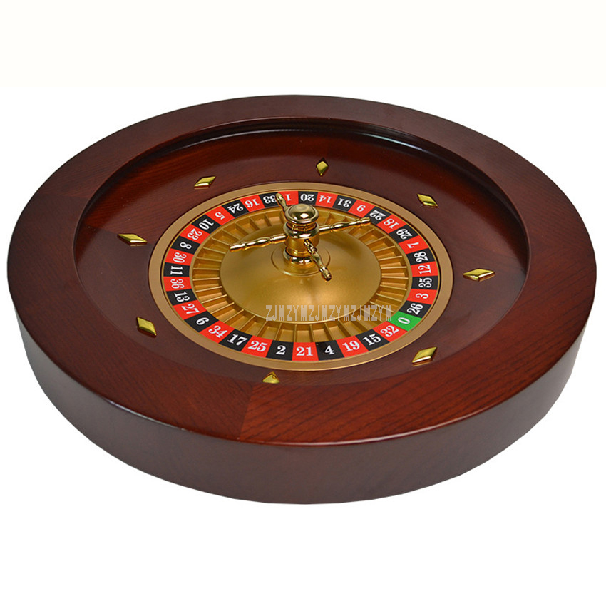 Wooden Roulette Wheel Bingo Game Toy Playing Board Entertainment Party Game Spinning Drinking Game Set For Bar Holidays Favor