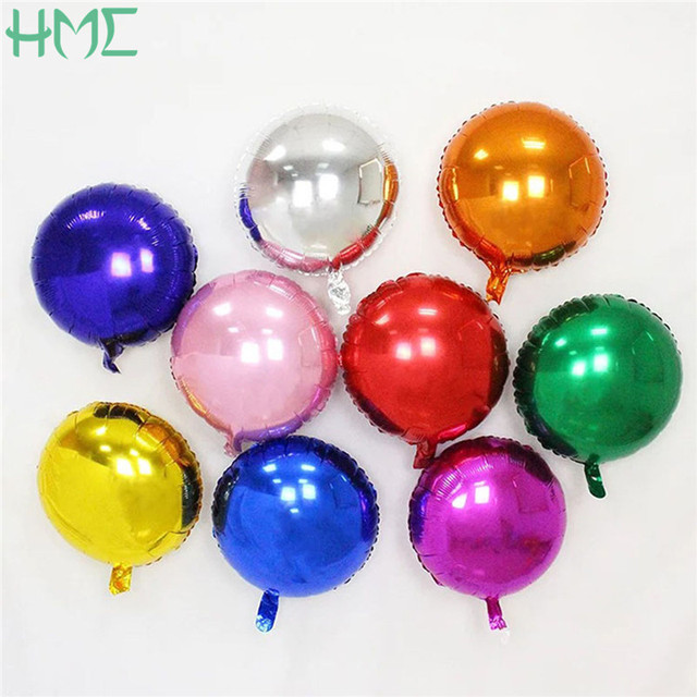Sale 5 pcs balloons 18 inch foil balloon party inflatable balls sale 5 pcs balloons 18 inch foil balloon party inflatable balls wedding decoration happy birthday inflatable junglespirit Images