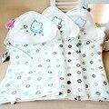 1 Pcs 80*80 cm Swaddles Bebê de Algodão Recém-nascidos Bebe Cobertores Do Bebê Camada Dupla de Gaze Toalha de Banho Robes Segurar Wraps swaddle cama