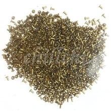 Медные заклепки Медь кукурузы 3x6 мм продаем посылка около 500 штук